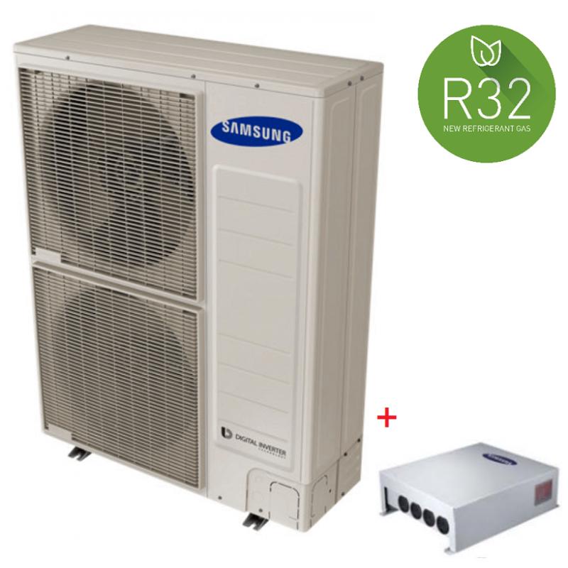 Pompa de caldura aer-apa SAMSUNG MONOBLOC - 16kW / 220V - R32 + controler Samsung MIM-E03CN